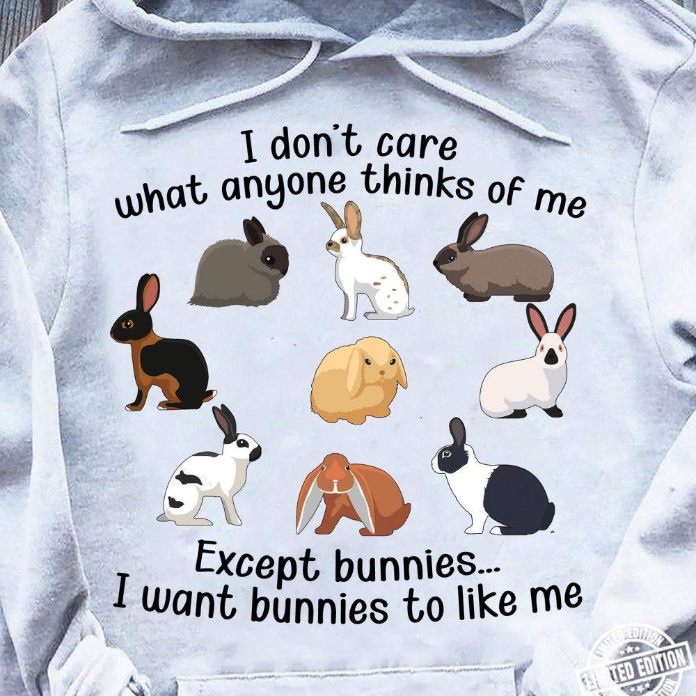 I Want Bunnies To Like Me Shirt