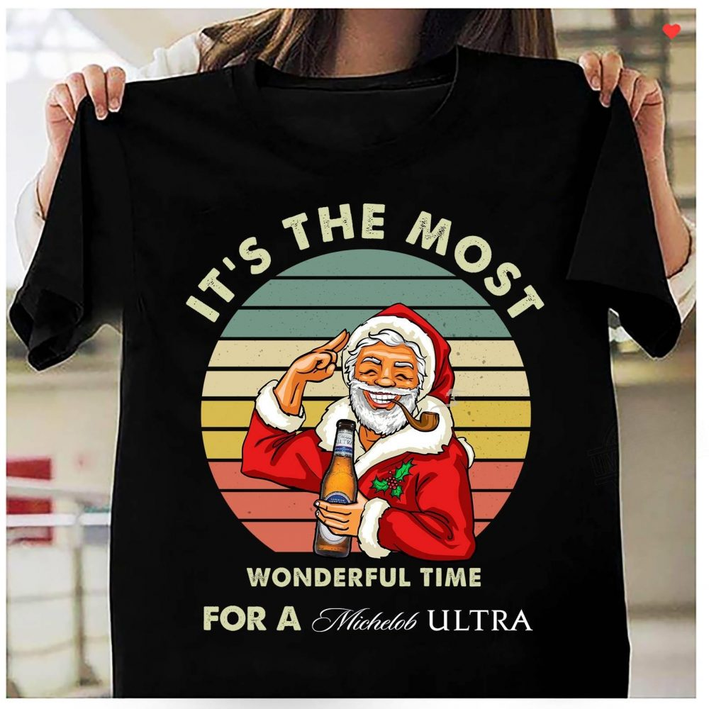 It's The Most Wonderful Time For A Michclob Ultra Shirt