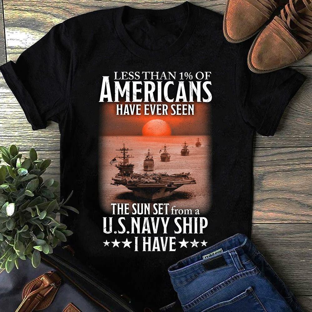 Less Than 1% Of Americans Have Ever Seen Shirt