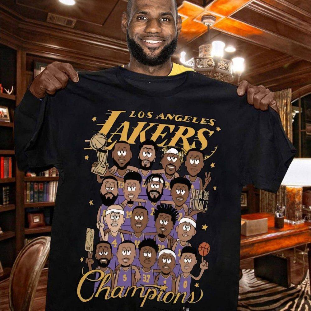Los Angeles Lakers Champions Shirt