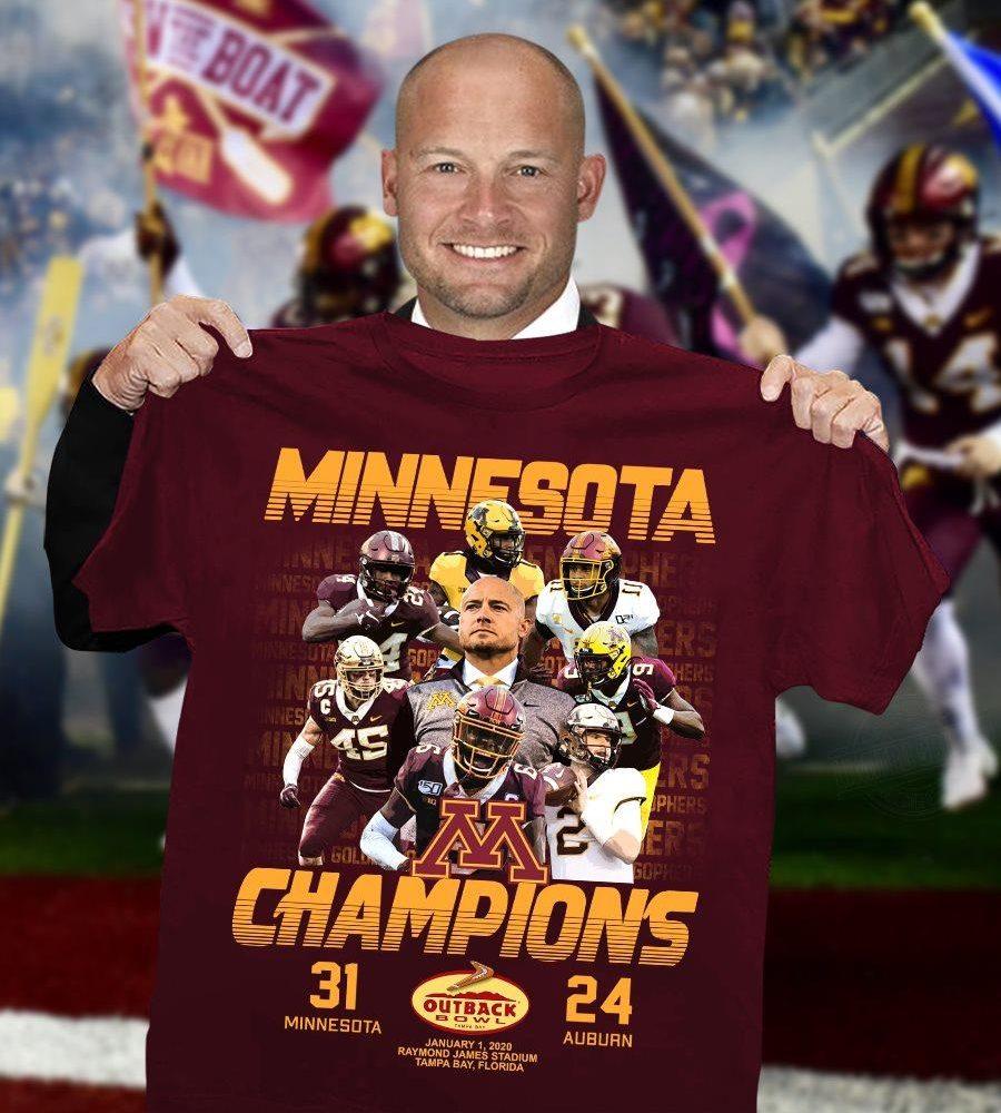 Minnesota Champions Shirt