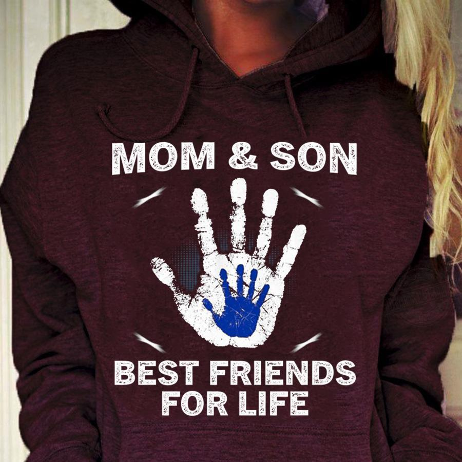 Mom And Son Best Friends For Life Shirt