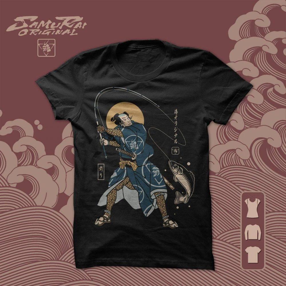Samurai Original Fishing Samurai Shirt