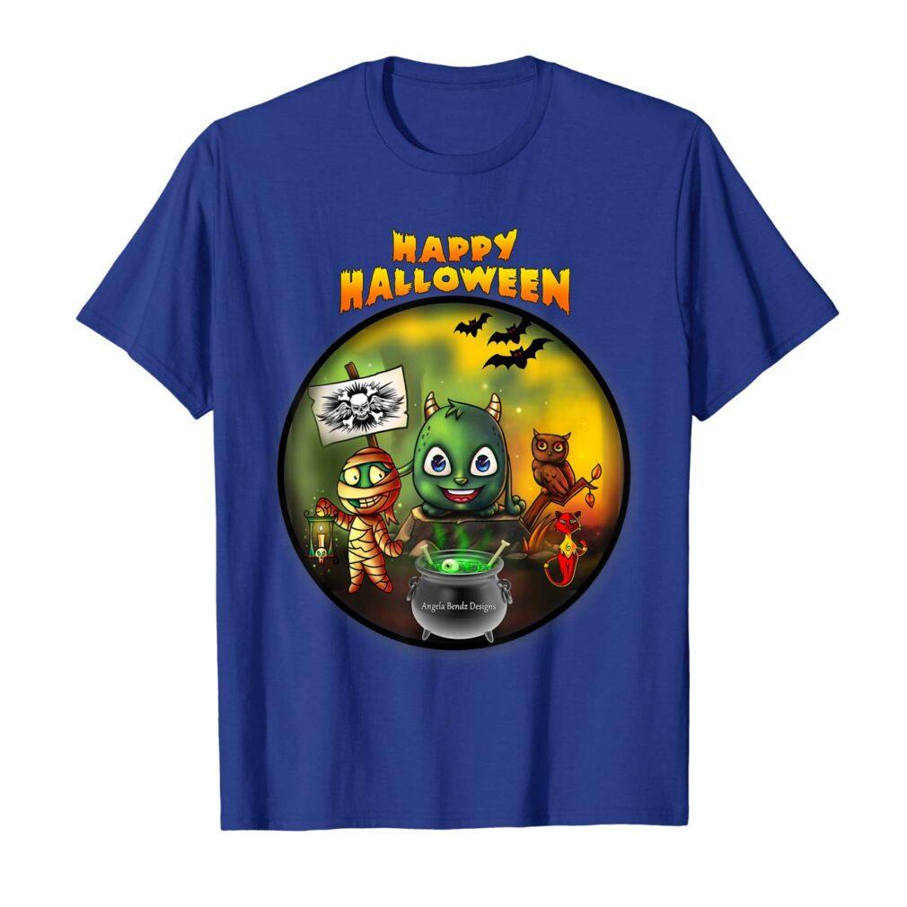 Scary & Funny Halloween Men T-Shirt