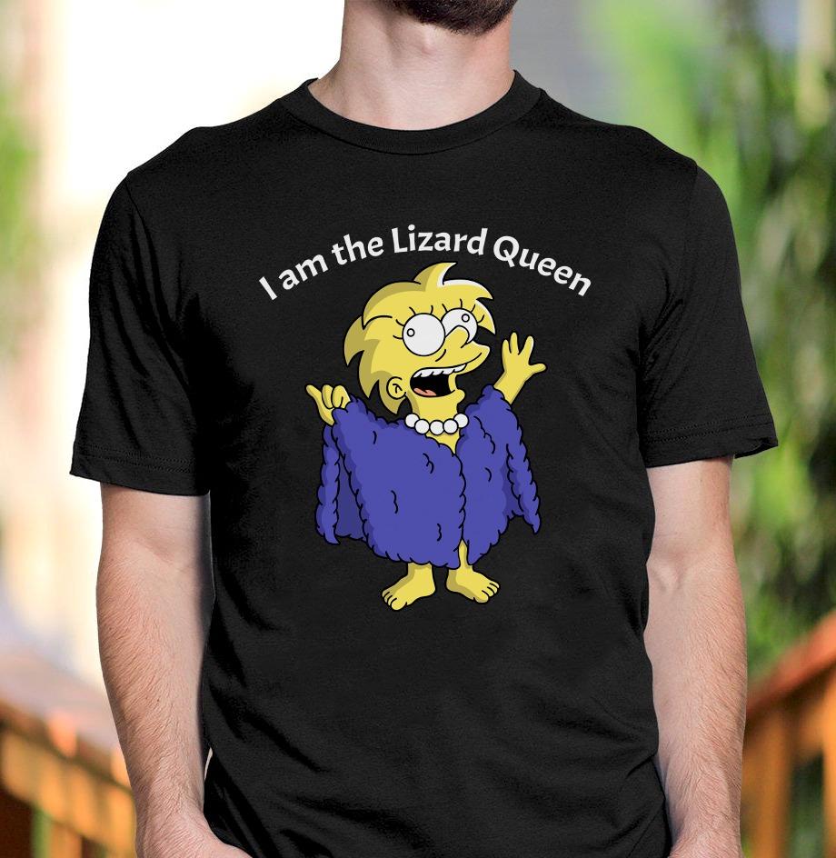 The Simpson I am The Lizard Queen Shirt